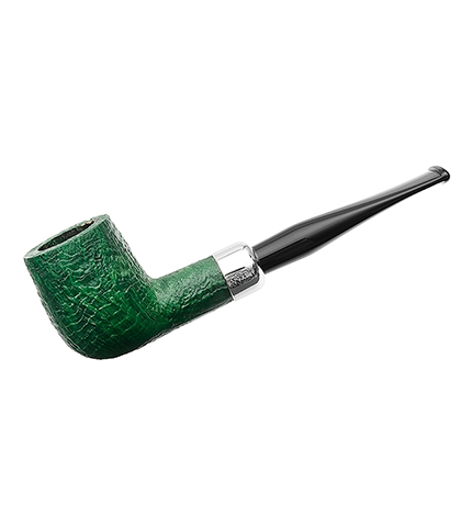 Peterson of Dublin St Patrick's Day Pipe, in Green.