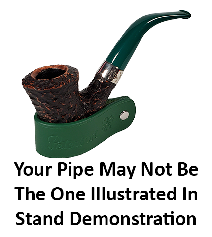 Peterson of Dublin St Patrick's Day 2021 Pipe, in Green.