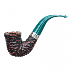 Peterson of Dublin St Patrick's Day 2021 Pipe, in Teal.